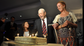 Celebrating Prof. İnalcık's Birthday, Guests Get a Surprise