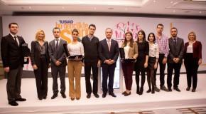 Bilkent Team Takes Third at TÜSİAD Competition
