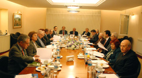 Board of Advisors Visits Bilkent, Meets with Board of Trustees