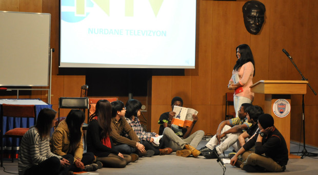 Bilkent News – International Student Skits Show Funny Side
