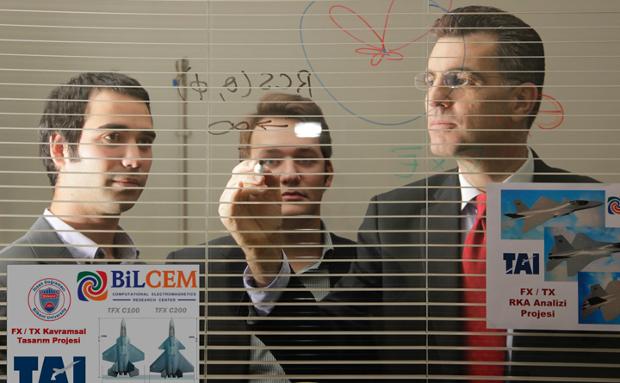 Bilkent News – BiLCEM Researchers Making Aircraft Stealthier