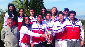 Bilkent Teams Compete in 2014 Interuniversity Tennis Championship