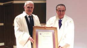 Atatürk University Bestows Honorary Doctorate on Prof. Güvenen