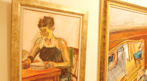 Exhibition of Paintings by Claire Arkas at the Library Art Gallery
