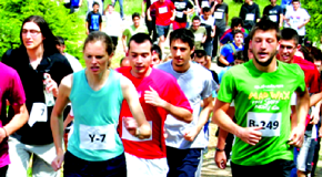 """""""Sports as a Way of Life"""" Spring Run 2014"""