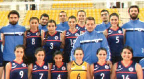 Volleyball Teams Stay in First Division