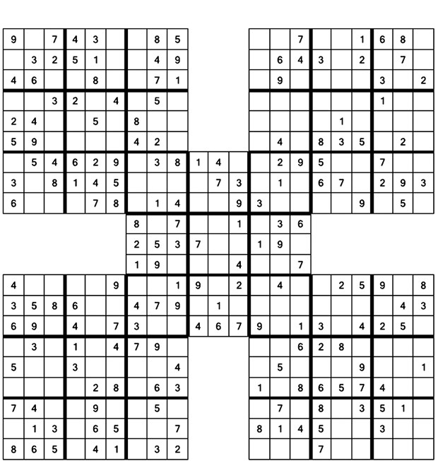 photograph about Printable Sudoku 4 Per Page known as Bilkent Information SUDOKU