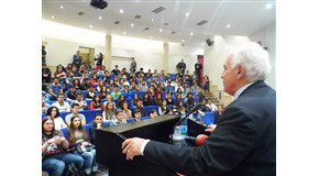 Doğu Perinçek Addresses Bilkent Students