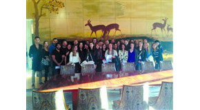 TRIN Students Visit French Embassy