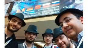 CS Students  Compete at DefCamp Conference
