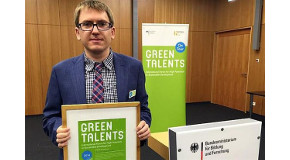 EEE PhD Student Receives Green Talent Award in Berlin