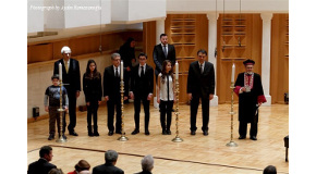 Ceremony at Bilkent Concert Hall Commemorates Victims of the Holocaust