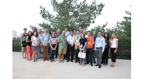 New Faculty Members Meet at Welcome Reception