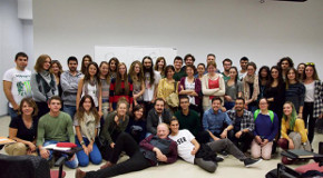The Economist's Cartoonist Gives Workshop at Bilkent