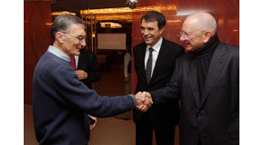 Nobel Laureate Aziz Sancar Visits Bilkent