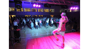 Bilkent Students Dance Their Way to Fitness at Zumba Master Class