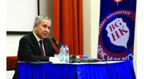 Bilkent Student Clubs Host Lecture by Bülent Arınç