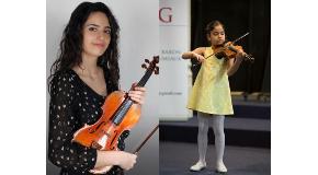 Bilkent's Young Violinists Win Awards in Belgium