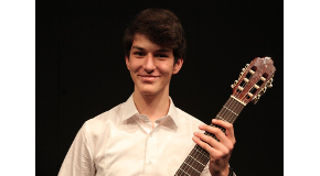 Music Prep Student Wins Second Prize in Belgrade