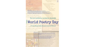 World Poetry Day at Bilkent