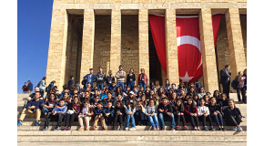Support by Railway Project Brings Seventh and Eighth Graders to Bilkent