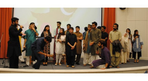 Student Club Event Showcases Pakistani Culture