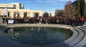 Honoring December 10 Victims, Bilkent Students Condemn Terror