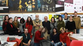 "Guest Lecturer Presents Workshop on ""Art in Motion"" for GRA Students"
