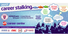 "Career Center Invites Bilkenters to ""Stalk"" Their Career Opportunities"