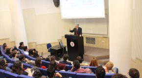 Talk by Austrian Ambassador Draws Large Audience