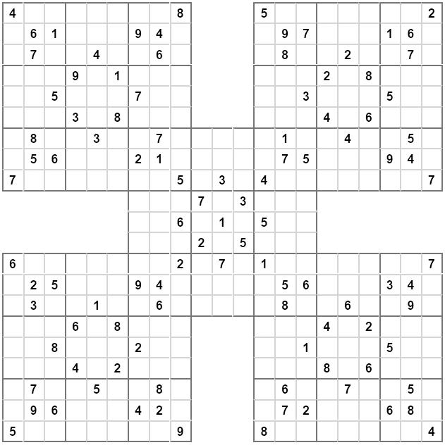 Sudoku medium with answers