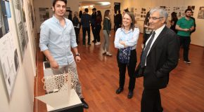 Exhibit Highlights Use of Parametric Design Technology by ARCH Students