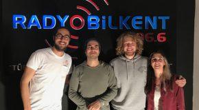 Harun Tekin of Mor ve Ötesi Visits Radio Bilkent