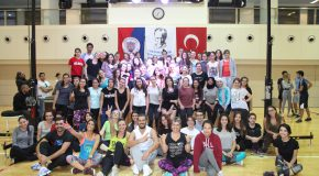 Bilkent Students Step Lively at Zumba Master Class
