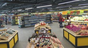 New and Improved Meteksan Market Open for Service