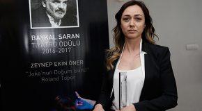 Zeynep Ekin Öner Öztürk Wins Baykal Saran Award