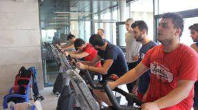 New Sport Debuts at Bilkent: Indoor Triathlon