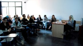 American Novelist Susan Straight Speaks to Bilkent AMER Students and Faculty