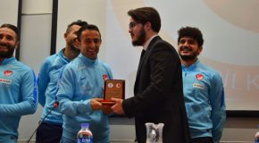Turkey's Amputee Football Team Visits Bilkent