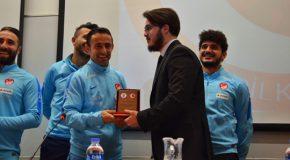 Turkey's Amputee Football Team Visits Bilkent