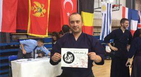 Bilkent Kendo Instructor Attains Fourth Dan