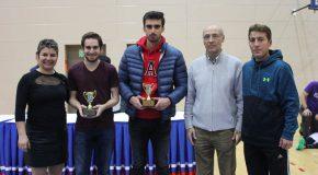 Fall Semester Intramural Tournament Award Winners
