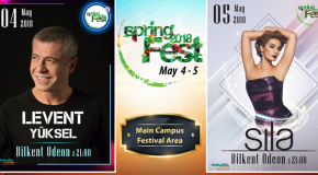 Levent Yüksel and Sıla to Headline This Year's Spring Fest Concerts