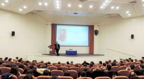 Sabancı Holding CEO Speaks to Industrial Engineering Students
