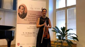 Bilkent's Young Violinists Win Awards in Prague