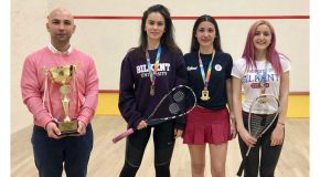Bilkent Women Win National University Championship in Squash
