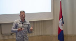 Dutch Interactive Designer Hayo Wagenaar Visits COMD