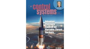 IEEE Control Systems Features Mechanical Engineering Faculty Member's Research on Cover