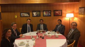 Ambassador of India Visits Bilkent