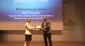 IEEE Turkey Presents Doctoral Dissertation Award to CS Graduate